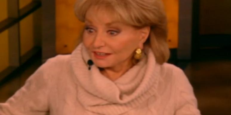 Barbara Walters on 'The View'