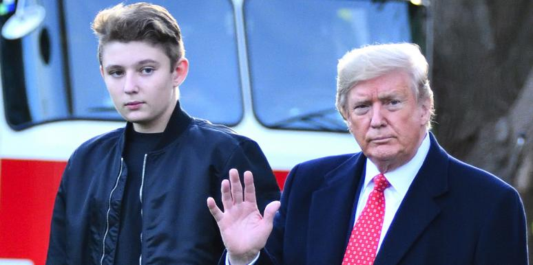 The 13 Best Barron Trump Memes And GIFs On The Internet