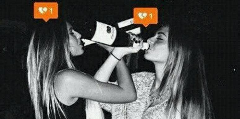heartbroken drinkers