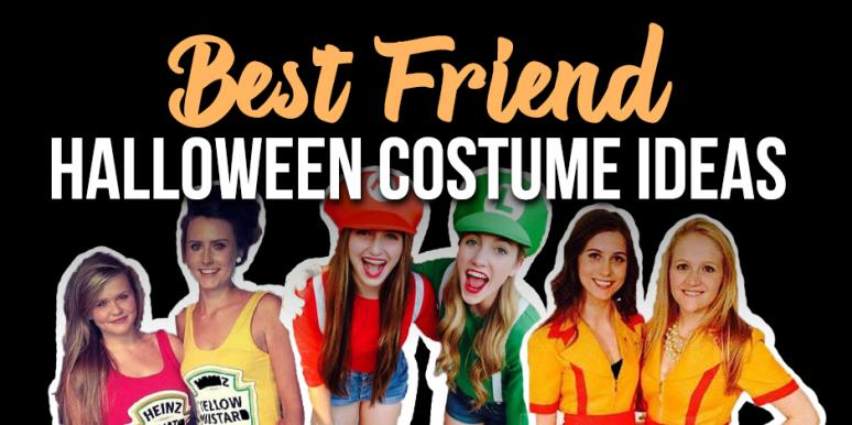 30 Matching Best Friend Halloween Costume Ideas To Wear To Your Next