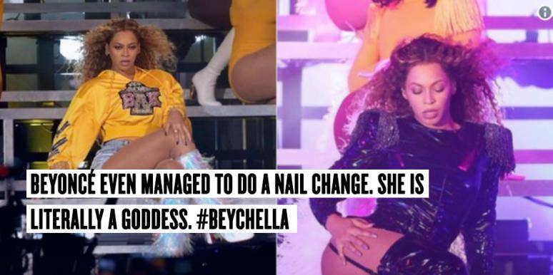 beychella coachella music festival beyoncé tweets and memes