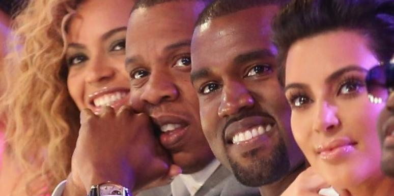 Beyonce, Jay-Z, Kanye West & Kim Kardashian