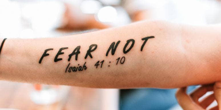 30 Faith Love Bible Verse Tattoo Ideas Yourtango