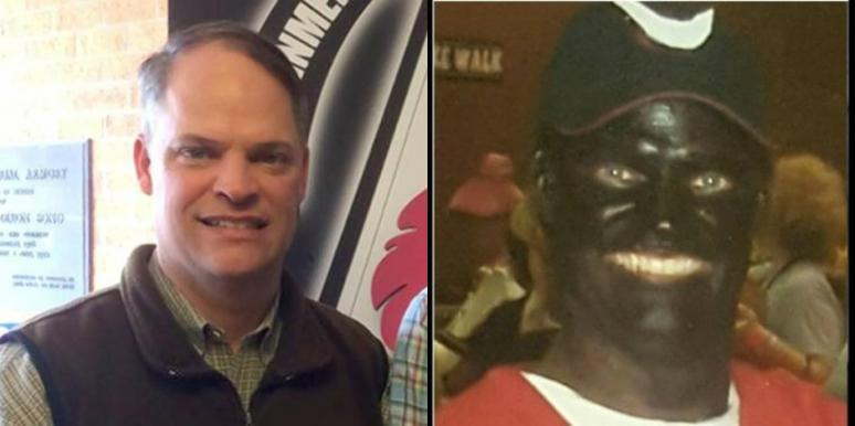 republican robbie gatti blackface