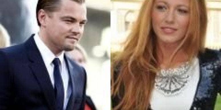 Blake Lively Leonardo DiCaprio