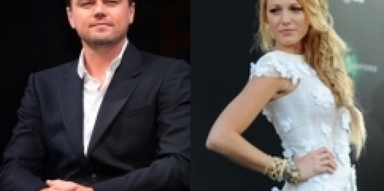 Blake Lively and Leo DiCaprio