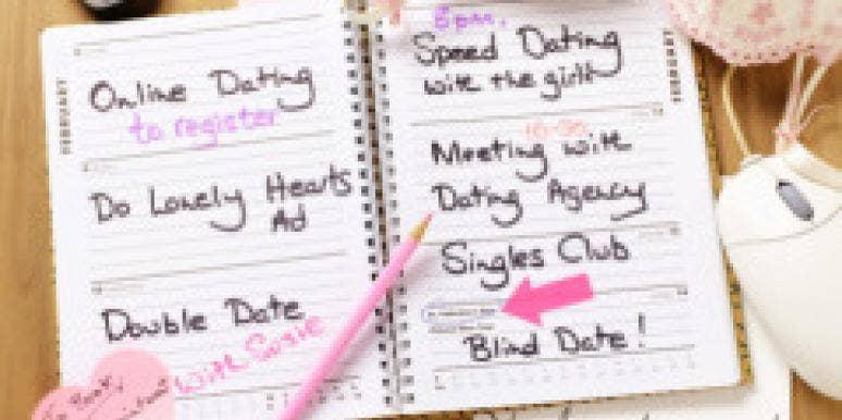 blind date book