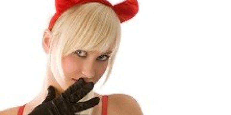 blonde devil