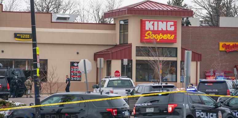 King Soopers supermarket, location of the Boulder shooting