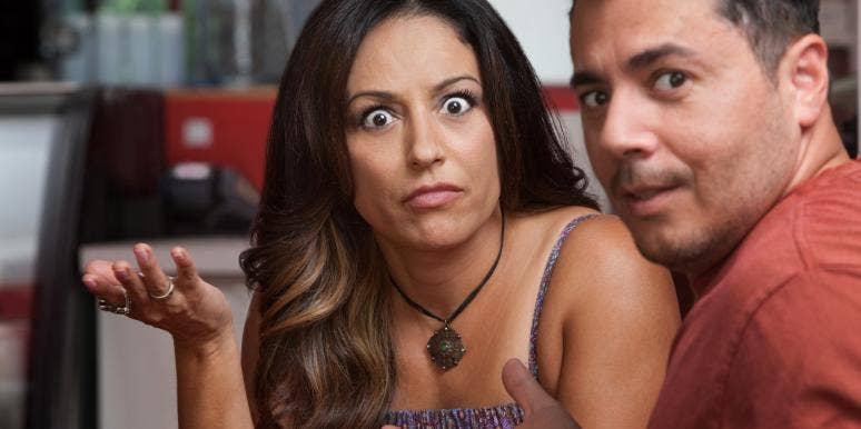 women with husband who won't apologize