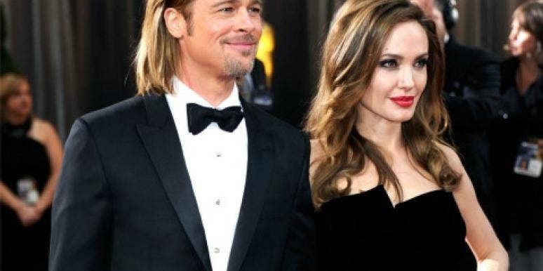 Brad Pitt and Angelina Jolie at the oscars