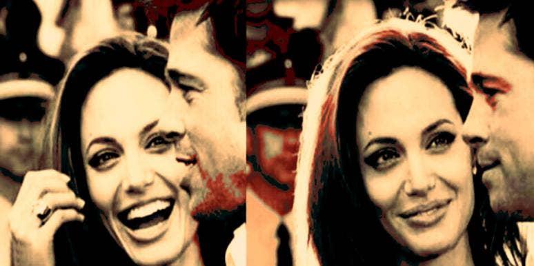 Brad Pitt and Angelina Jolie are just like you