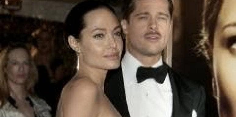 Brad Pitt Gets Behind Angelina