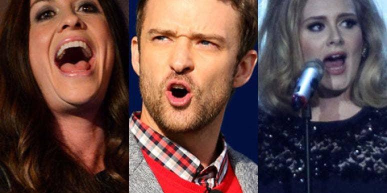 Adele, Justin Timberlake & Alanis Morissette