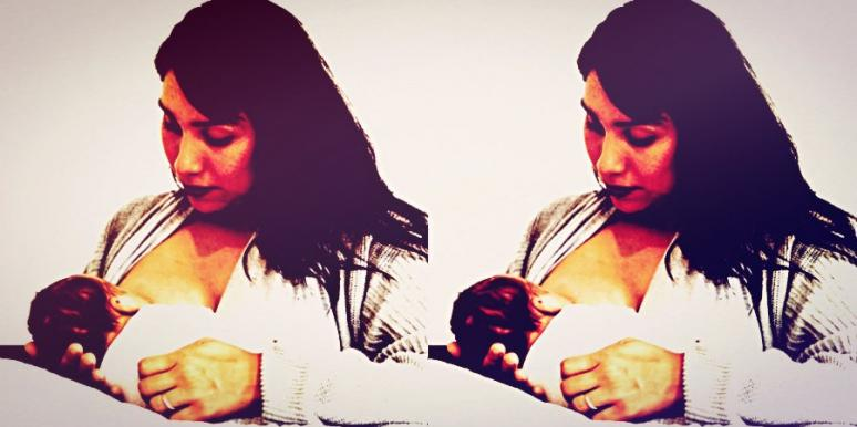 breastfeeding another woman's baby