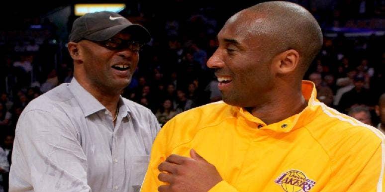 Kobe Bryant and Joe Bryant