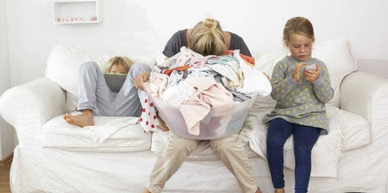 mommy burnout children