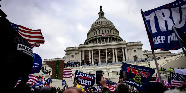 Tweets From Capitol Riots