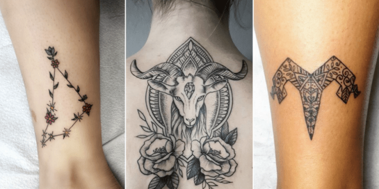 25 Best Zodiac Tattoos, Sea-Goat Symbols And Meanings For Capricorn Zodiac  Sign | YourTango