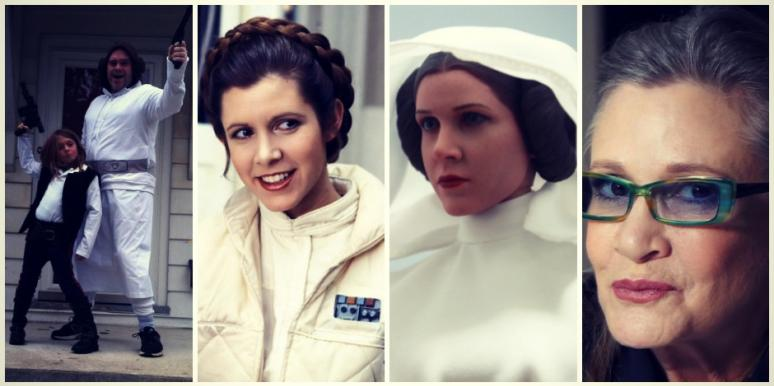 Carrie Fisher Princess Leia died