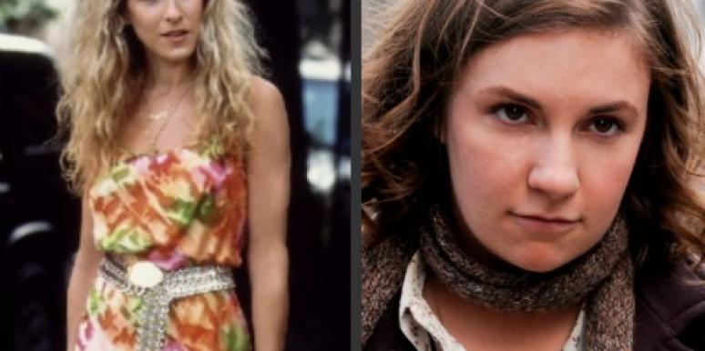 carrie bradshaw satc sex and the city hannah horvath girls