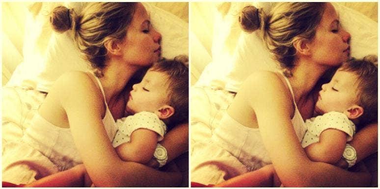 family parenting Casper bed
