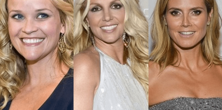 Britney Spears, Heidi Klum & Reese Witherspoon