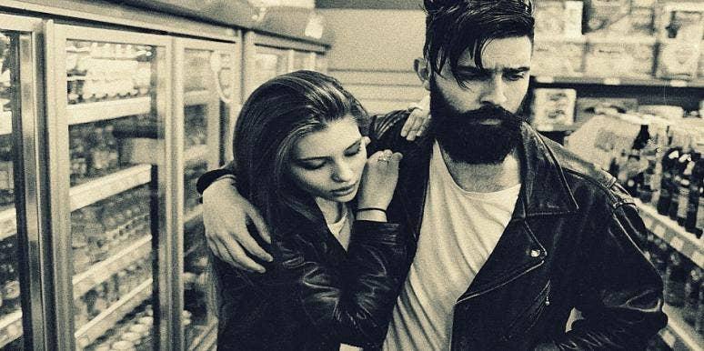 grunge couple