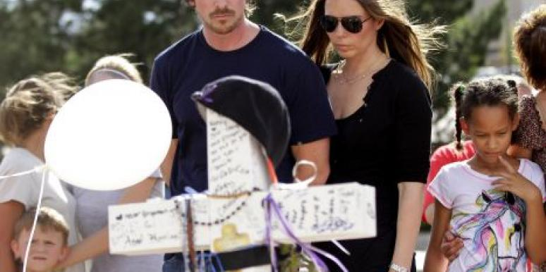 Christian Bale Shows Compassion In Visit With Shooting Victims