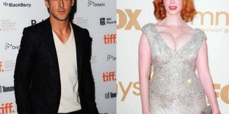 Ryan Gosling And Christina Hendricks