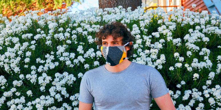 A Step-By-Step Guide To Wearing, Sanitizing & Reusing Your Face Mask