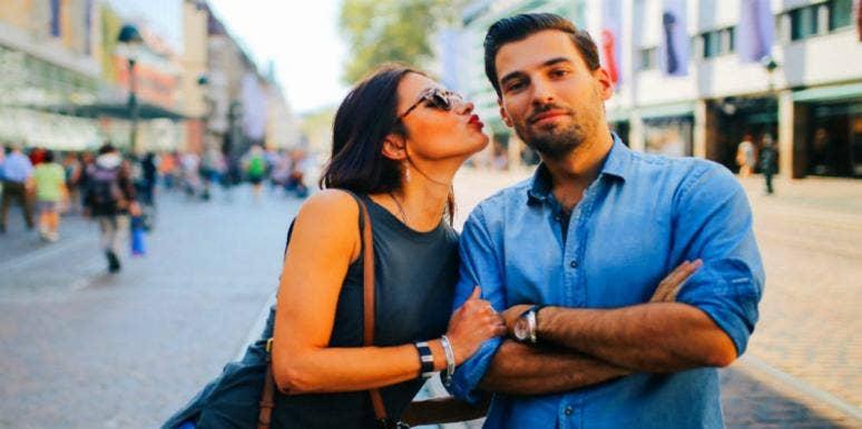 happy guy couple