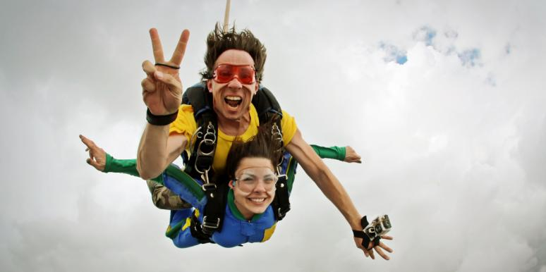 Why I Chose To Go Skydiving, Even Though I'm A Control Freak