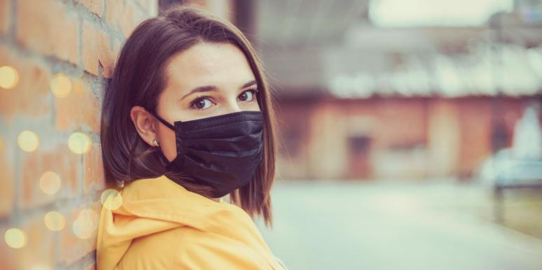 woman coping with depression in quarantine