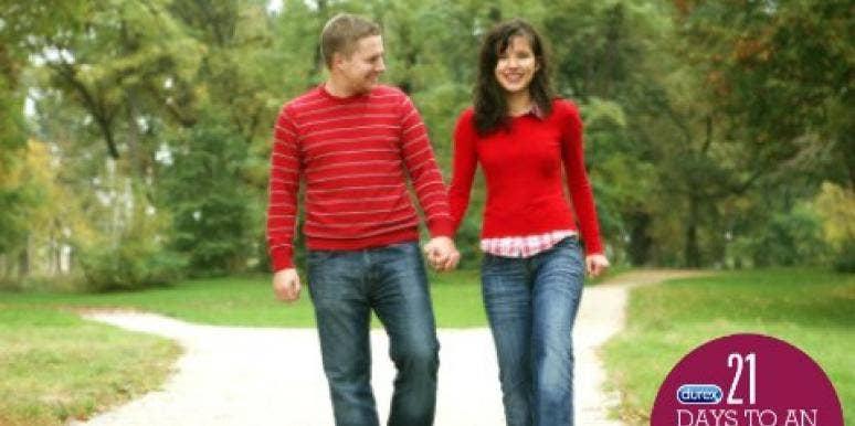 couple on memory lane