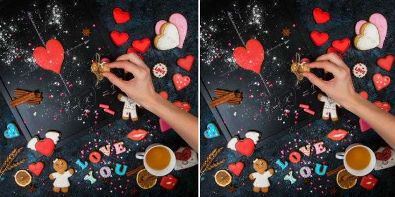 A4 Large Set of 11 Red Valentine Hearts self-adhesive vinyl stickers