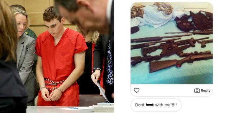 Nikolas Cruz, threatening messages, ex-girlfriend