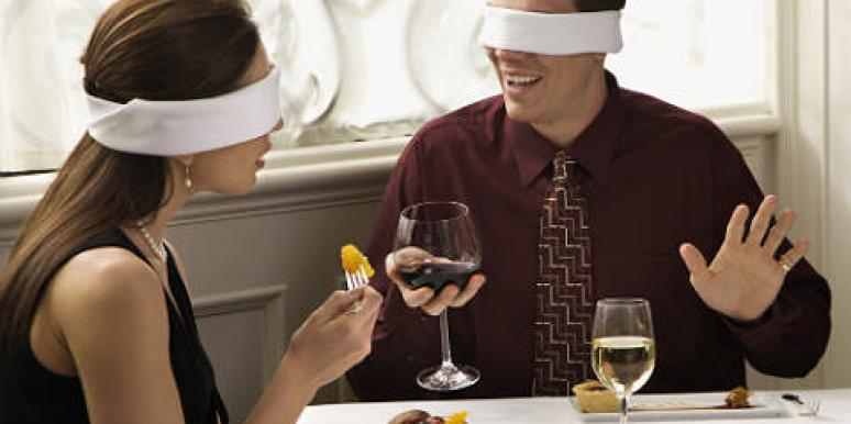date blindfolded
