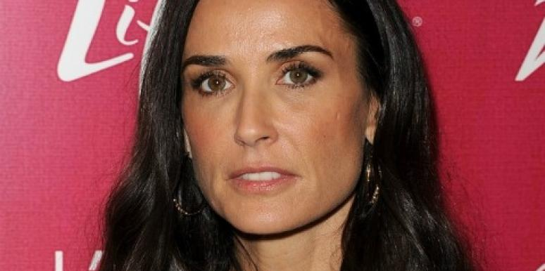 """Demi Moore's """"Exhaustion"""": A Scary Side Effect Of Her Breakup?"""