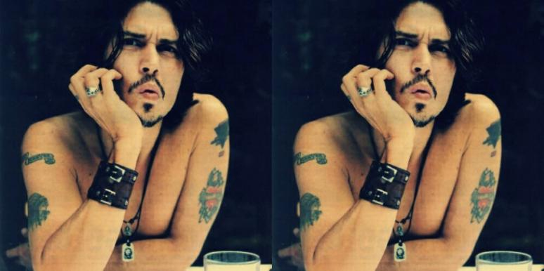 couples tattoos Johnny Depp