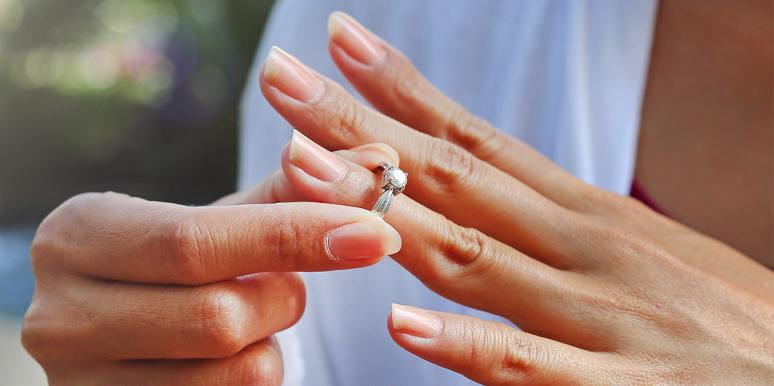 Why I Don't Wear My Diamond Ring Anymore, Even Though I'm Happily Married