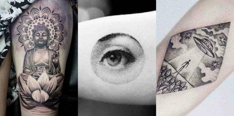 dotwork tattoos dot tattoo designs minimalistic tattoo ideas