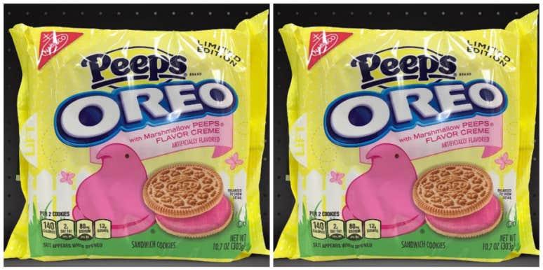 pink peep oreos