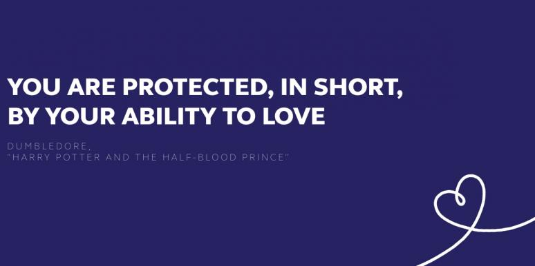 dumbledore quote from harry potter and the half-blood prince