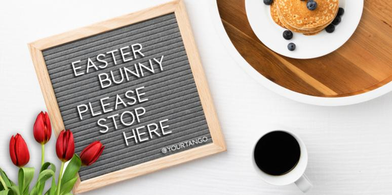 easter letter board quotes