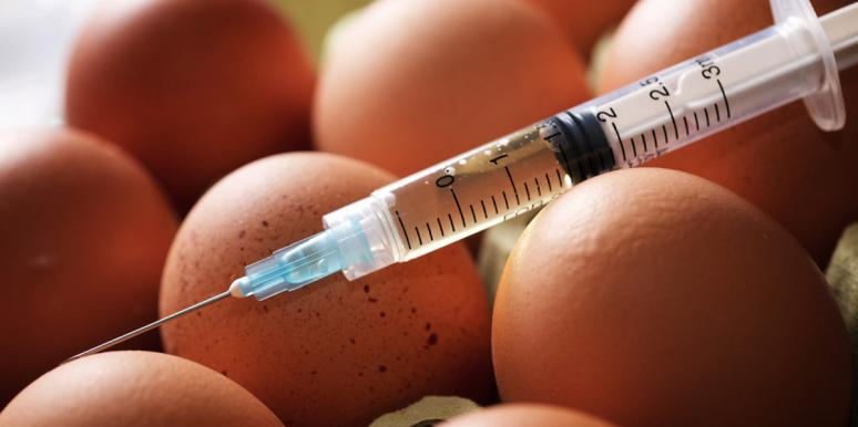 Man Injects A Chicken Egg With His Sperm And Pulls Out A Tiny Monster