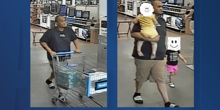Florida man stealing diapers and baby wipes