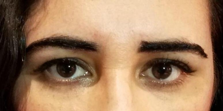 What Happened When I Tried Wearing Eyebrow Wigs