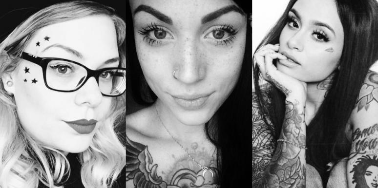 tasteful face tattoos for women meanings and tattoo trends