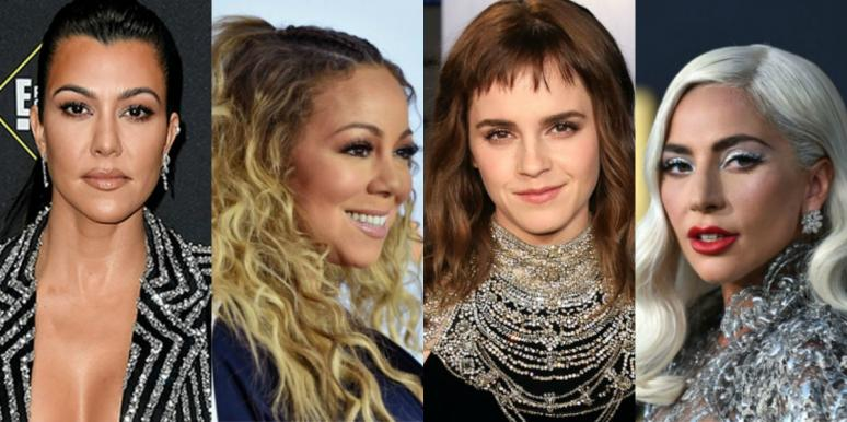 famous Aries Kourtney Kardashian, Mariah Carey, Emma Watson and Lady Gaga